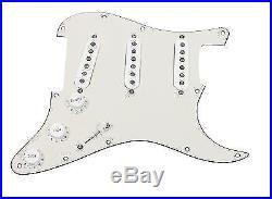 920D Custom Shop Texas Special Loaded Pickguard Fender Strat 7 Way PA/WH