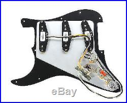 920D Custom Shop Texas Special Loaded Pickguard Fender Strat 7 Way WH/WH