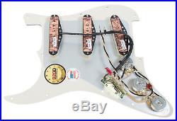 920D Custom Yngwie Malmsteen Strat Loaded Pickguard DiMarzio HS-3 HS-4 WH/WH