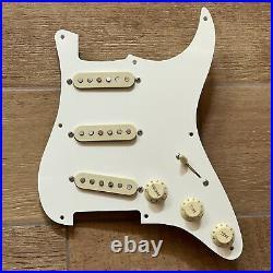 920D Fender Custom Shop 69 PIO Pre-Wired Loaded Strat Pickguard Pickup Set