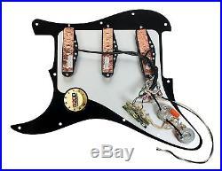 920D Fender Strat Loaded Pickguard Duncan Yngwie Malmsteen YJM Fury USA BK/BK