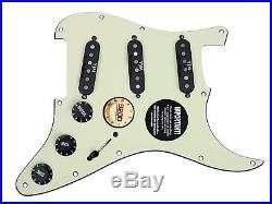 920D Fender Strat Loaded Pickguard Duncan Yngwie Malmsteen YJM Fury USA MG/BK