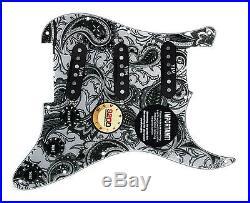 920D Fender Strat Loaded Pickguard Duncan Yngwie Malmsteen YJM Fury USA PY/BK