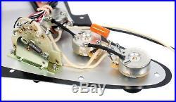 920D Fender Strat Loaded Pickguard Duncan Yngwie Malmsteen YJM Fury USA WP/BK