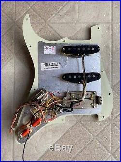 920D Fender Stratocaster LOADED PICKGUARD Strat HSS Texas Special 920D HSS