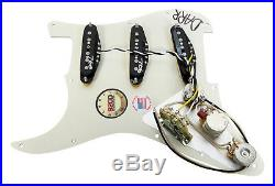 920D Fralin Vintage Hot Loaded Stratocaster Strat Pickguard, TBX/Blender TO/AW