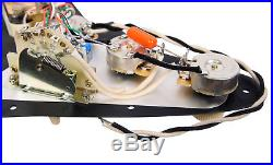 920D Lace Sensor Gold HH Splittable Dually Loaded Strat Pickguard BK/BK