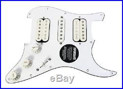 920D Loaded HSH Strat Pickguard DiMarzio Paul Gilbert PAF Master Area 58 WH/WH