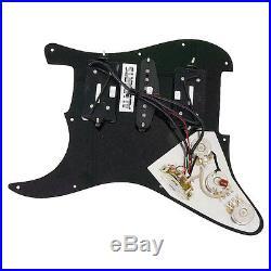 920D Loaded HSH Strat Stratocaster Pickgurad DiMarzio Evolution WP/BK