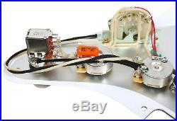 920D Loaded Strat Pickguard DiMarzio Virtual Vintage Heavy Blues / 54 Pro MG/WH