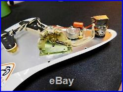 920D Loaded Strat Pickguard Klein 1954 Epic Pickups 7 Way Switching PA/AW