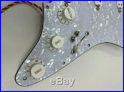 920D Seymour Duncan SJBJ / SDBR / SL59 Everything Axe Loaded Strat Pickguard WP