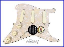 920D Strat Loaded Pickguard Lace Sensor Pickups Purple Silver Emerald AWP/AW