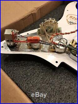 920D TV Jones Classic-Classic Plus Fender HH Strat Loaded Pickguard Coil Split
