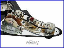 920D Tortoise Loaded Strat Pickguard with Seymour Duncan SHPG-1n/STK-S4m/TBPG-1b