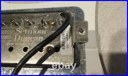 Authentic Fender Strat Loaded Pickguard HOT Seymour Duncan Mayhem Humbucker Set