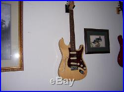 Custom Semi Hollow Strat Style Cozart with Made In USA 920D 1963 Loaded Pickguard