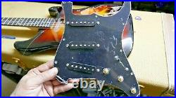 Custom Shop Hand Wound Super Tone Strat Pickups and SSS Wired Loaded Pickguard