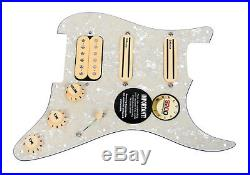DiMarzio Andy Timmons Loaded Strat Pickguard DP224F AT-1, DP187 Cruiser AWP/CR