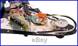 DiMarzio Andy Timmons Loaded Strat Pickguard DP224F AT-1, DP187 Cruiser BK/BK