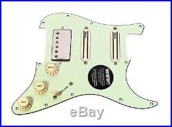 DiMarzio Andy Timmons Loaded Strat Pickguard DP224F AT-1, DP187 Cruiser MG/NK