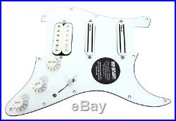 DiMarzio Andy Timmons Loaded Strat Pickguard DP224F AT-1, DP187 Cruiser WH/WH