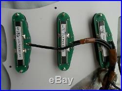 Dimarzio Prewired Loaded Pickguard Dp 186 187 188 Cruiser Pro Track Rail Strat