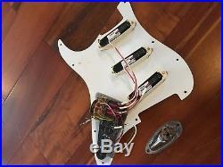 EMG DG-20 SA EXG SPC Pickups Stratocaster Loaded Gilmour Pickguard Fender Strat