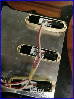 EMG SA Active Pickup Stratocaster Loaded Pickguard Tuxedo Assembly Fender Strat
