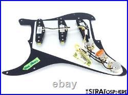 FOR REPAIR Fender Stratocaster LOADED PICKGUARD Strat Texas Special Black