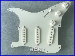 Fender 2005 American Deluxe Strat Pickguard Loaded SCN Pickups S-1 Switch