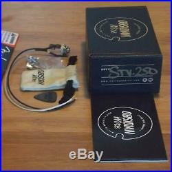 Fender 57/62 Strat Parchment Loaded PickguardObsidianWire STV250 KitBrand New