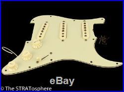 Fender 60s Road Worn Tex Mex Strat LOADED PICKGUARD Relic Mint Green