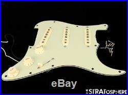 Fender 60s Strat LOADED PICKGUARD VINTAGE PUs Stratocaster Prewired Mint SALE