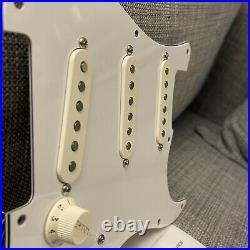 Fender 90s American Standard Stratocaster LOADED 3-Ply White Pickguard USA Strat