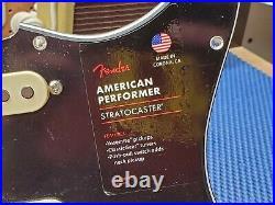 Fender American Performer Strat Loaded PICKGUARD USA Yosemite Pickups Guitar