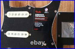 Fender American Performer Stratocaster Loaded Pickguard Yosemite SSS Strat Black