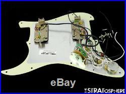 Fender American Professional HH Shawbucker Strat LOADED PICKGUARD 5 Tones Mint
