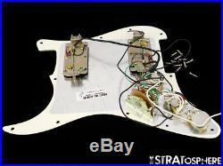 Fender American Professional HH Shawbucker Strat LOADED PICKGUARD 5 Tones Parch