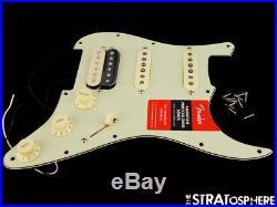 Fender American Professional HSS Shawbucker/ V Mod Strat LOADED PICKGUARD Mint