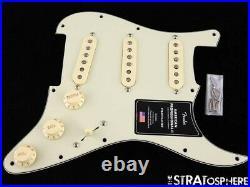 Fender American Professional II Strat LOADED PICKGUARD, Tim Shaw VMod Mint Green