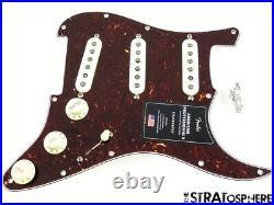 Fender American Professional II Strat LOADED PICKGUARD, Tim Shaw V-Mod Tortoise