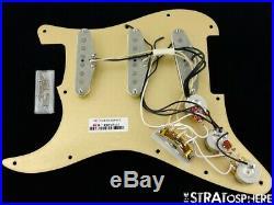 Fender American Professional Stratocaster LOADED PICKGUARD Strat Vintage 65 Gold