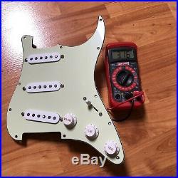 Fender American Professional V-Mod Strat Pickup Set Prewired Loaded Pickguard