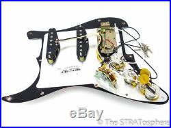Fender American Special Texas Special HSS Strat LOADED PICKGUARD Hot Atomic