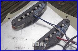Fender American Standard / Duncan JB Jr LOADED Stratocaster Strat Pickguard USA