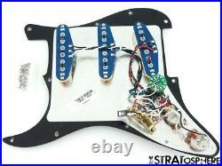 Fender American Ultra Luxe Stratocaster LOADED PICKGUARD Strat S1 Noiseless BLK