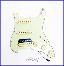 Fender American Ultra Strat HSS Loaded Pickguard Noiseless USA With Output Jack