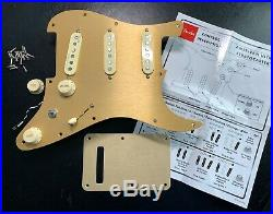 Fender American Ultra Strat SSS Loaded Pickguard with Noiseless and S1 Switching