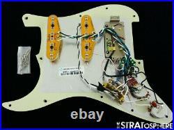 Fender American Ultra Stratocaster HSS LOADED PICKGUARD Strat S1 Noiseless USA